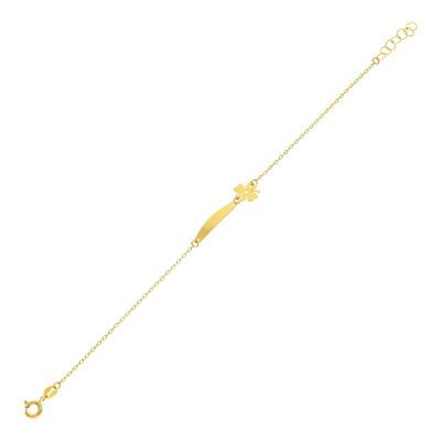 A&A Dziecięcia bransoletka z żółtego złota