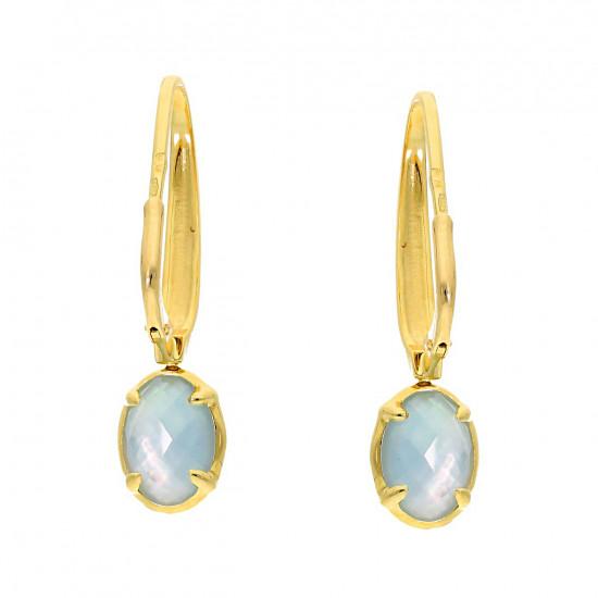 A&A srebrna broszka z perłami i markazytami
