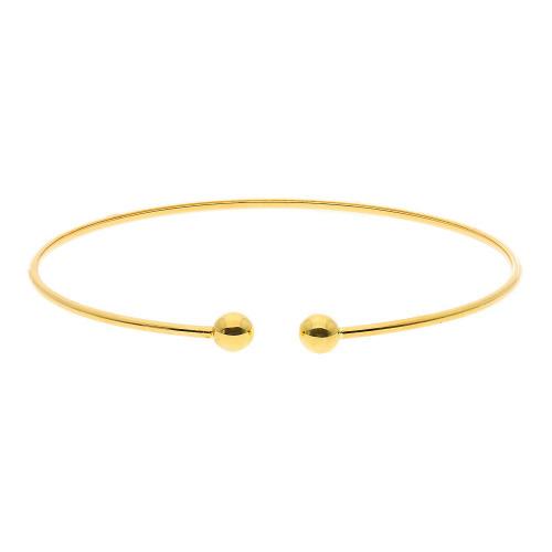 Bransoletka z żółtego złota