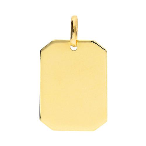 Przywieszka z żółtego złota