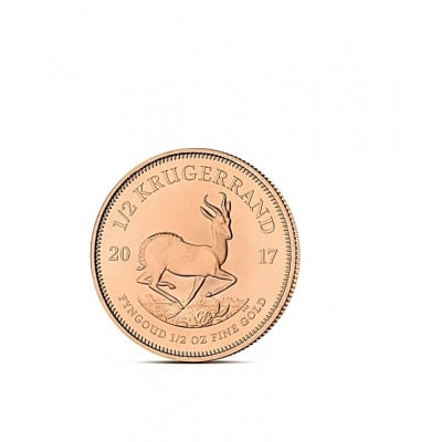 KRUGERRAND 1/2 OZ - Złota moneta 1/2 uncji Krugerrand