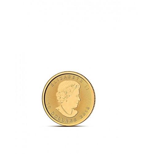 LIŚĆ KLONU 1/4 OZ - Złota moneta 1/4 uncji - Kanadyjski Liść Klonu 10 CAD