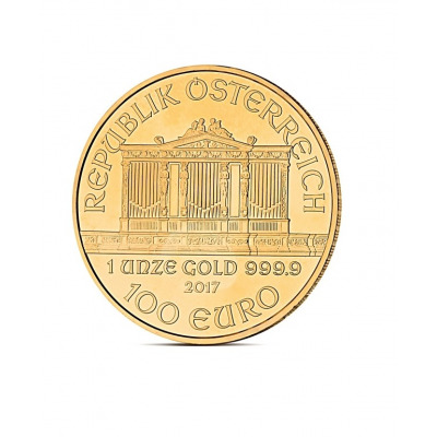FILHARMONIK 1 OZ - Złota moneta 1 uncja Filharmonik Wiedeński - 100EUR