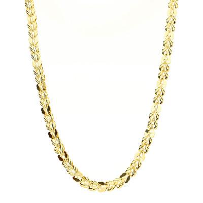Naszyjnik z żółtego złota