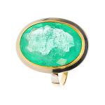 Pierścionek złoty ze szmaragdem 12,71 ct
