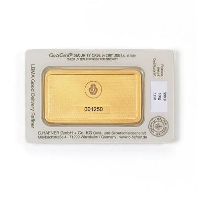Sztabka 100G - Złota sztabka 100G