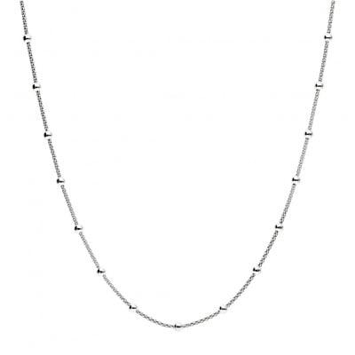 Naszyjnik srebrny z kulkami