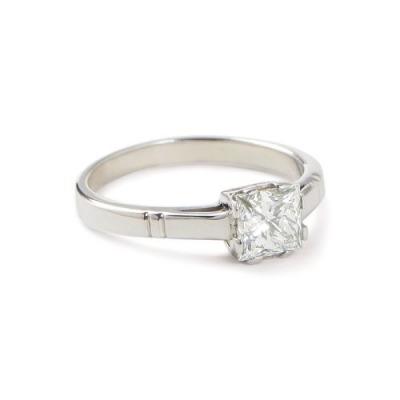 A&A Pierścionek z diamentem 1,01 ct wykonany ręcznie