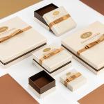 Naszyjnik kolia z białego złota 585 z rubelitami