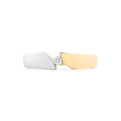 A&A Pierścionek złoty z brylantem 1,73 g