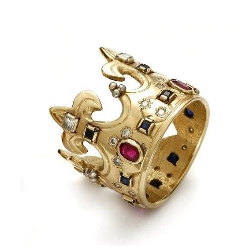 """A&A Złoty pierścionek """"Korona Chrobrego"""""""