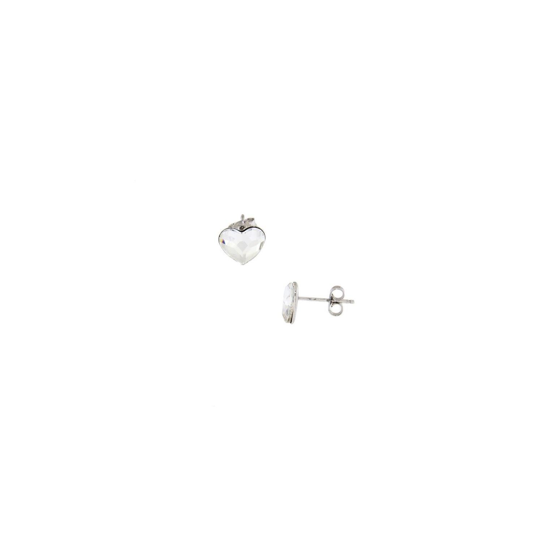A&A srebrne kolczyki z kryształami Swarovskiego