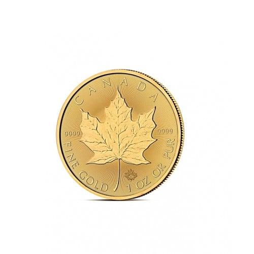LIŚĆ KLONU 1 OZ - Złota moneta 1 uncja - Kanadyjski Liść Klonu 50 CAD