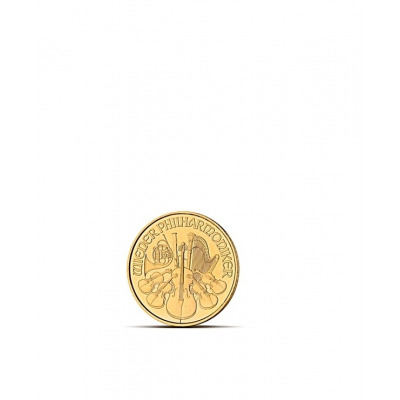 FILHARMONIK 1/10 OZ - Złota moneta 1/10 uncji Filharmonik Wiedeński - 10EUR