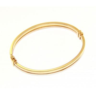 A&A Bransoletka z dwukolorowego złota