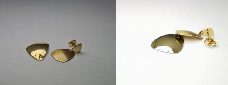 naprawa kolczyków z laserowym lutowaniem usluga jubilerska